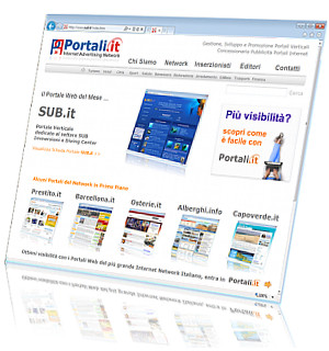 Portali.it - Internet Advertising Network - Concessionaria Pubblicità - Domini Premium